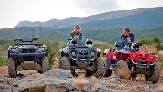 Экскурсия Катание на квадроциклах по Демерджи по Никите