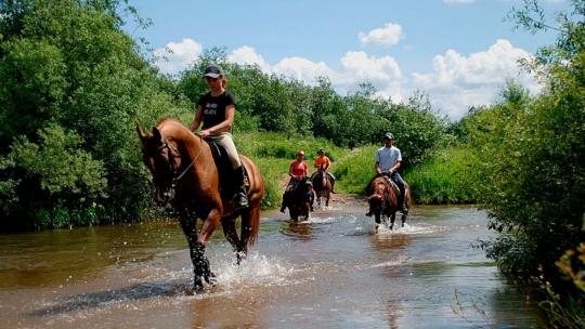 Конные прогулки в окрестностях Ялты - фото 2