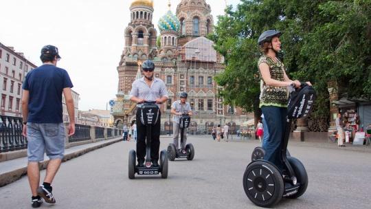 Экскурсия Прогулка на сигвее по центру города в Санкт-Петербурге