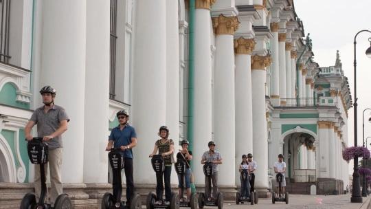 Экскурсия Прогулка на сигвее: о главном в Петербурге в Санкт-Петербурге