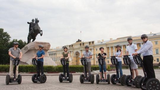 Экскурсия Прогулка на сигвее: Малый маршрут в Санкт-Петербурге