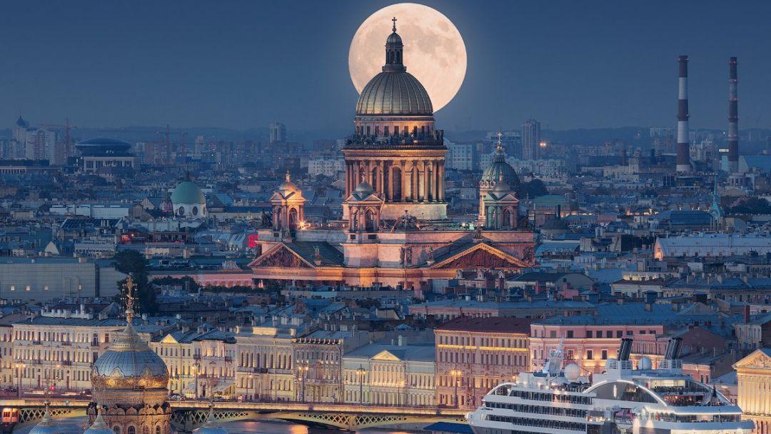 Экскурсия Обзорная по ночному Петербургу