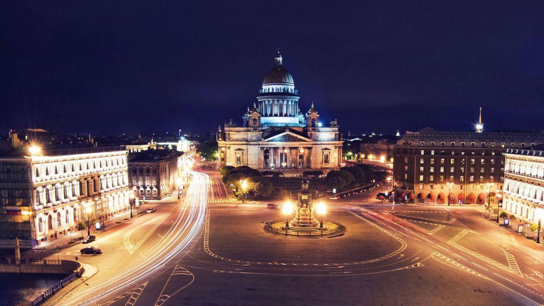Обзорная по ночному Петербургу - фото 2