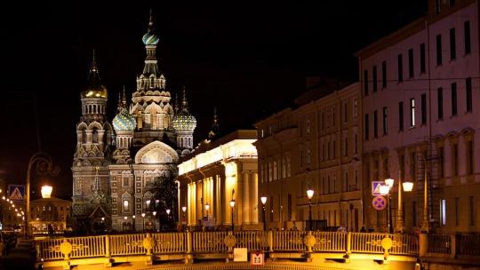 Обзорная по ночному Петербургу - фото 3