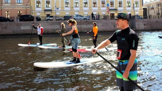 Экскурсия Серфинг с веслом: Каменный остров в Санкт-Петербурге