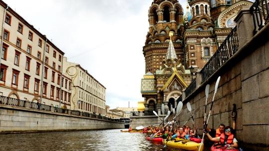 Экскурсия Экскурсия на каяках в Санкт-Петербурге