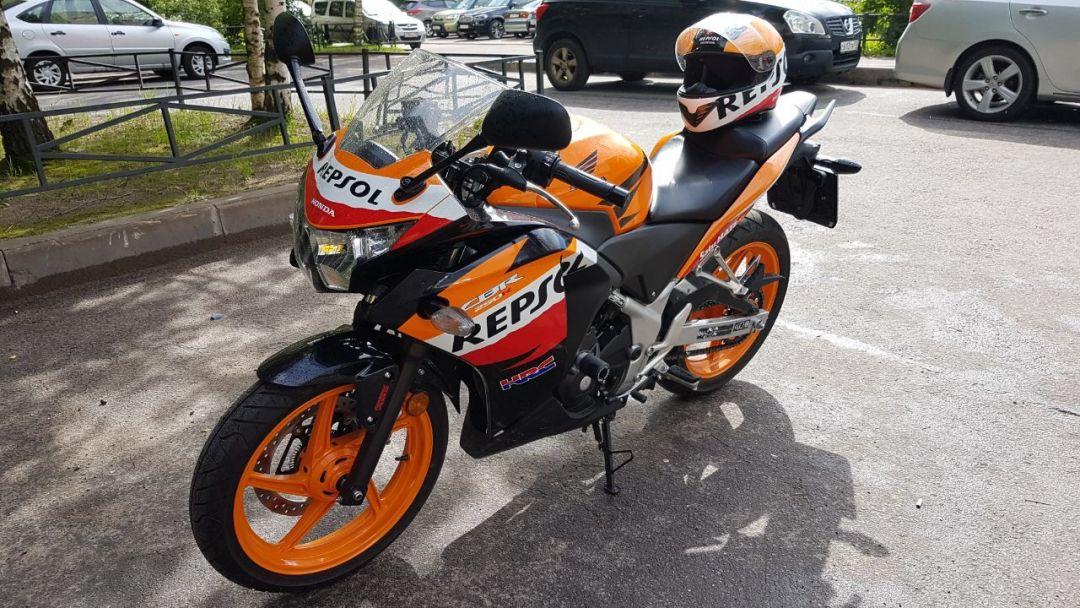 Аренда/прокат спортивного мотоцикла на сутки - фото 5