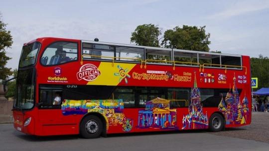 Прогулка на двухэтажном автобусе по Казани с аудиогидом - фото 2
