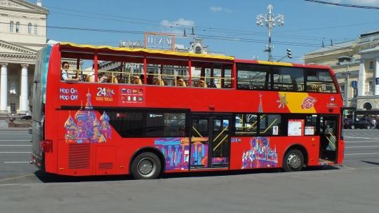 Прогулка на двухэтажном автобусе по Санкт-Петербургу с аудиогидом - фото 3