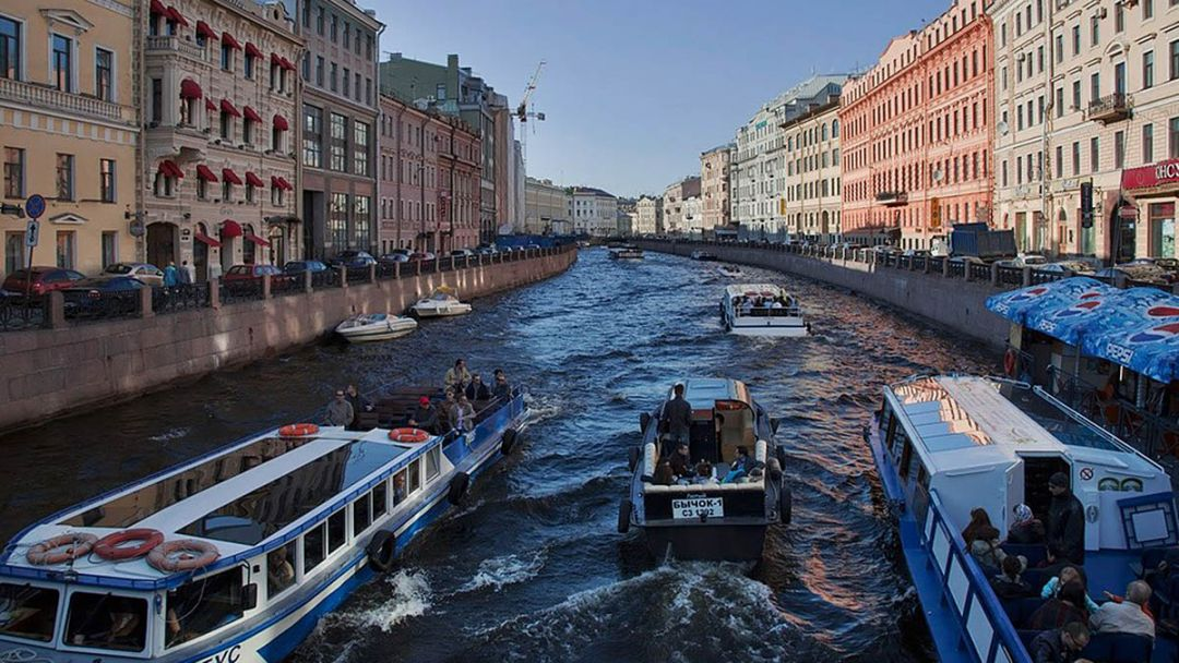 Экскурсия Морская прогулка по Санкт-Петербургу