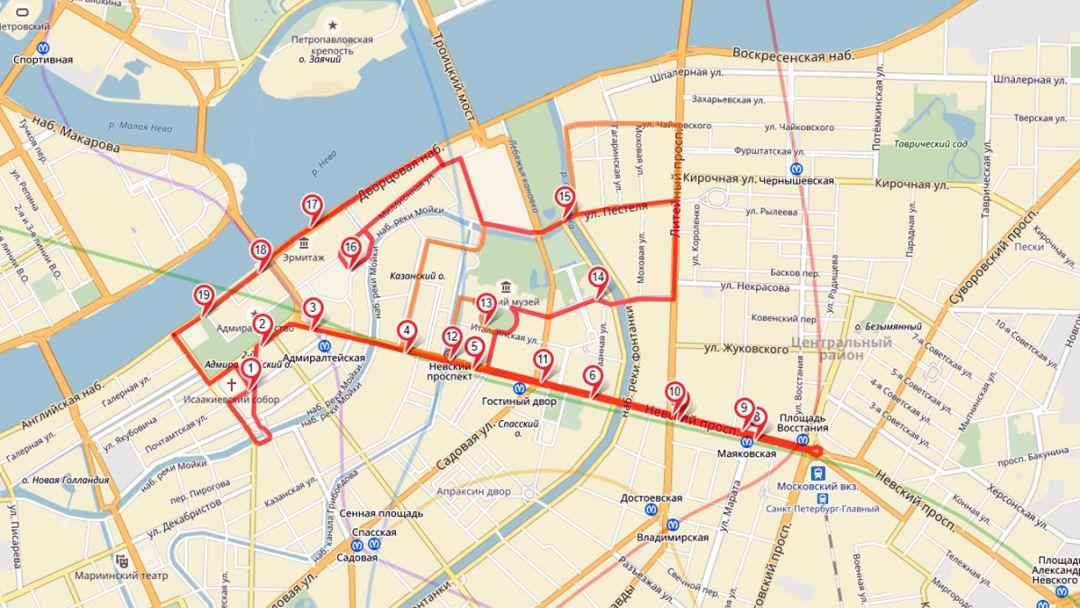 Прогулка на двухэтажном автобусе по Санкт-Петербургу с аудиогидом - фото 4