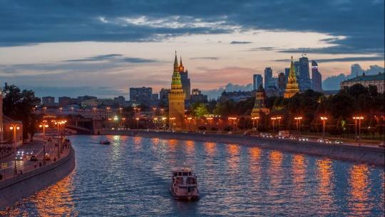 Волшебный вечер на Москве-реке - фото 2