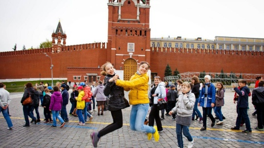 Экскурсия Детская квест-экскурсия по Красной площади и Александровскому саду по Москве