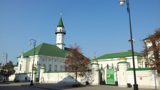 Старо-татарская слобода по Казани