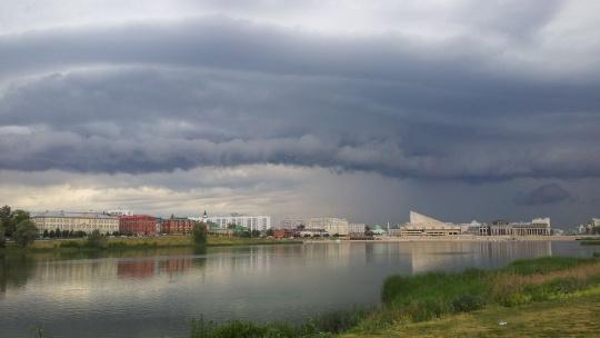 Озеро Кабан по Казани