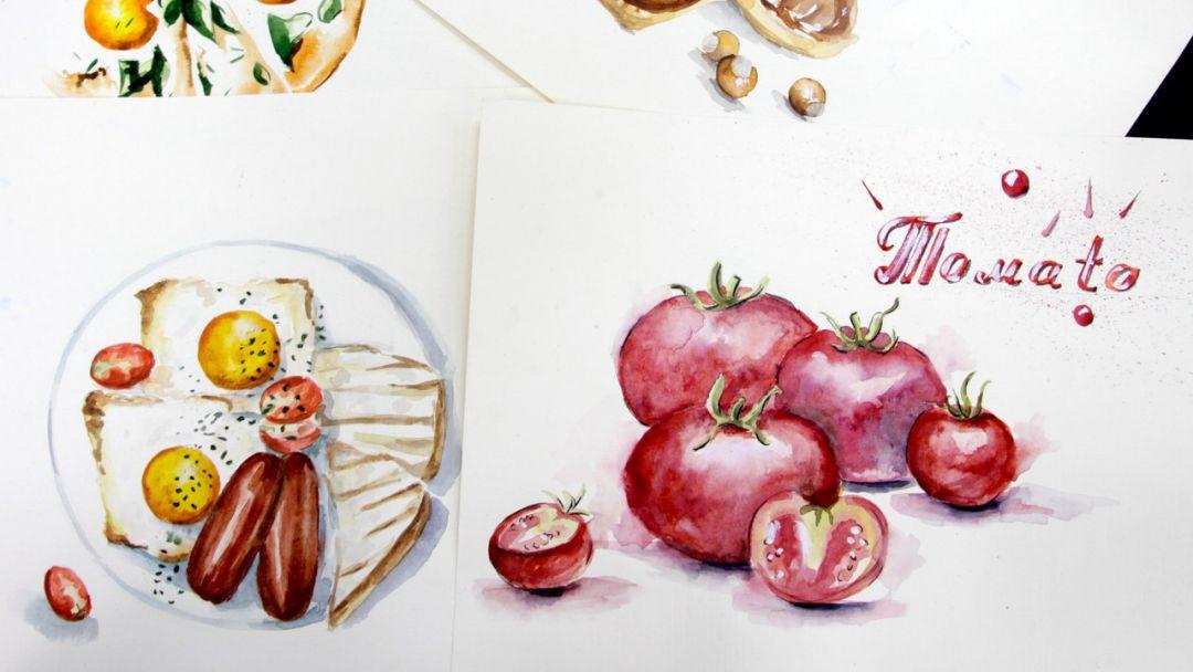 Акварельная Food-Иллюстрация - фото 2