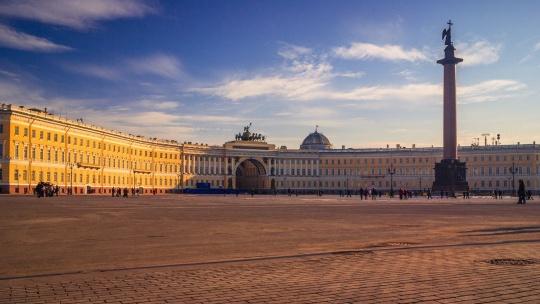 Экскурсия От Дворцовой площади до Казанского собора в Санкт-Петербурге