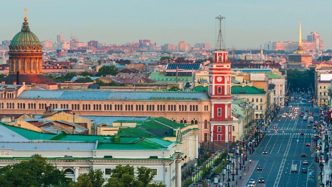 Экскурсия Автобусная обзорная экскурсия по Санкт-Петербургу