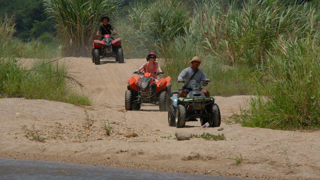 Рафтинг + Слоны + Квадроциклы в Пхукете