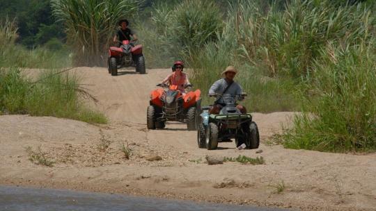 Экскурсия Рафтинг + Слоны + Квадроциклы в Пхукете