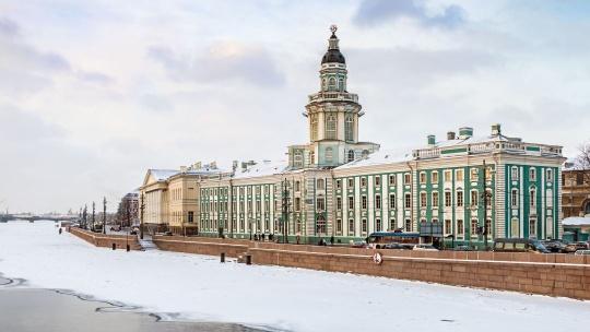 Экскурсия Кунсткамера и автобусная обзорная экскурсия по Санкт-Петербургу