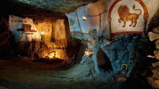 Экскурсия Экскурсия в Сьяновские каменоломни (Сьяны)