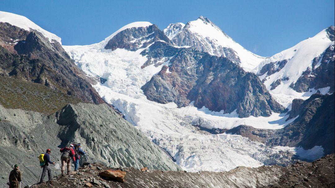 Ледник Геблера Горно-Алтайску