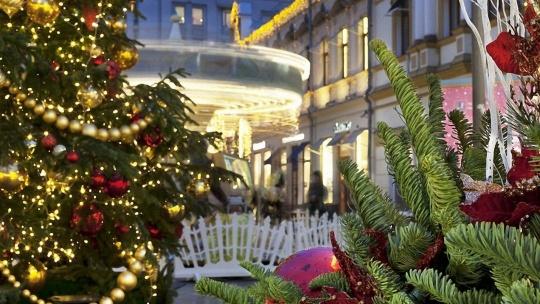 Новогоднее путешествие  с Дедушкой Морозом по Москве - фото 4