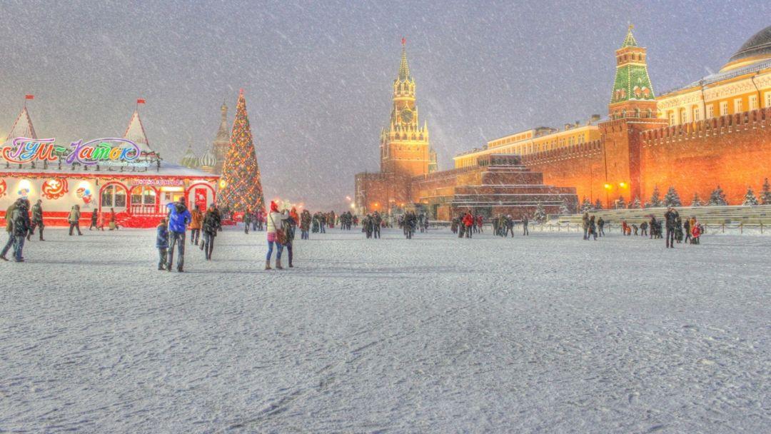 Новогоднее путешествие  с Дедушкой Морозом по Москве - фото 5