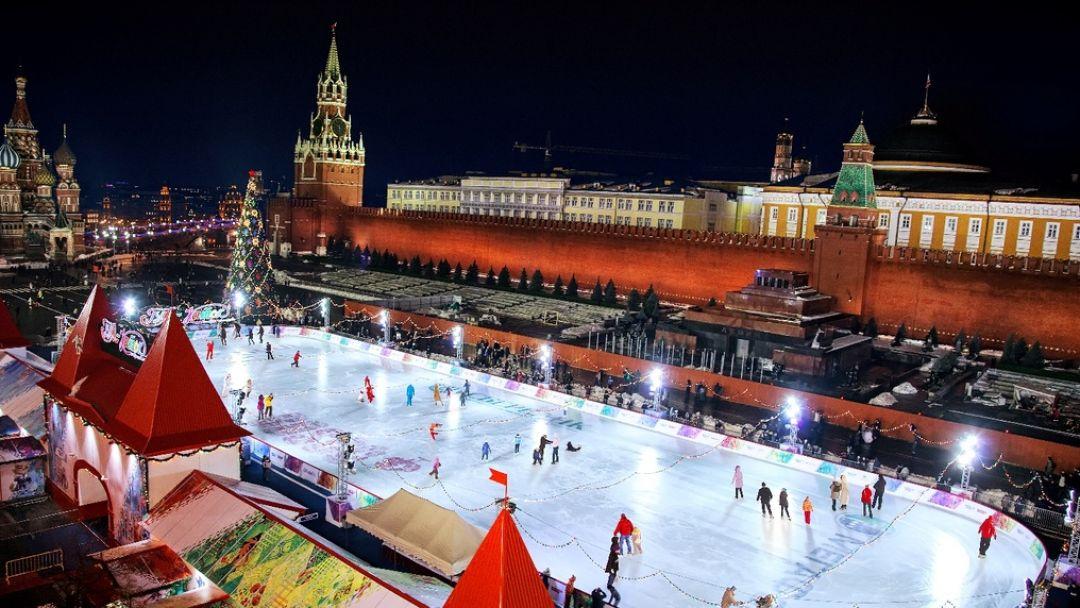 Новогоднее путешествие  с Дедушкой Морозом по Москве - фото 6