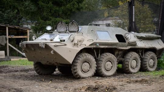 Катание на бронетехнике (БРДМ-2, танк Т-62, БТР-80, БМП-1) - фото 7