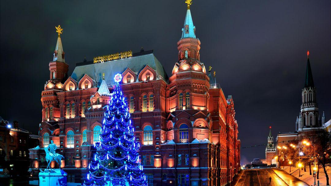 Экскурсия Новогодняя экскурсия по Москве