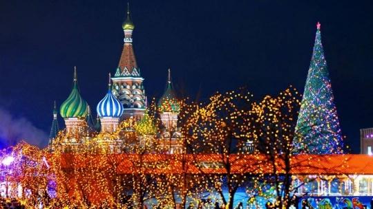 Экскурсия Огни новогодней Москвы - фото 3
