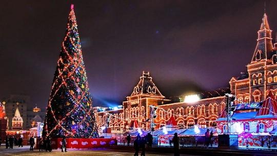 Экскурсия Экскурсия Огни новогодней Москвы