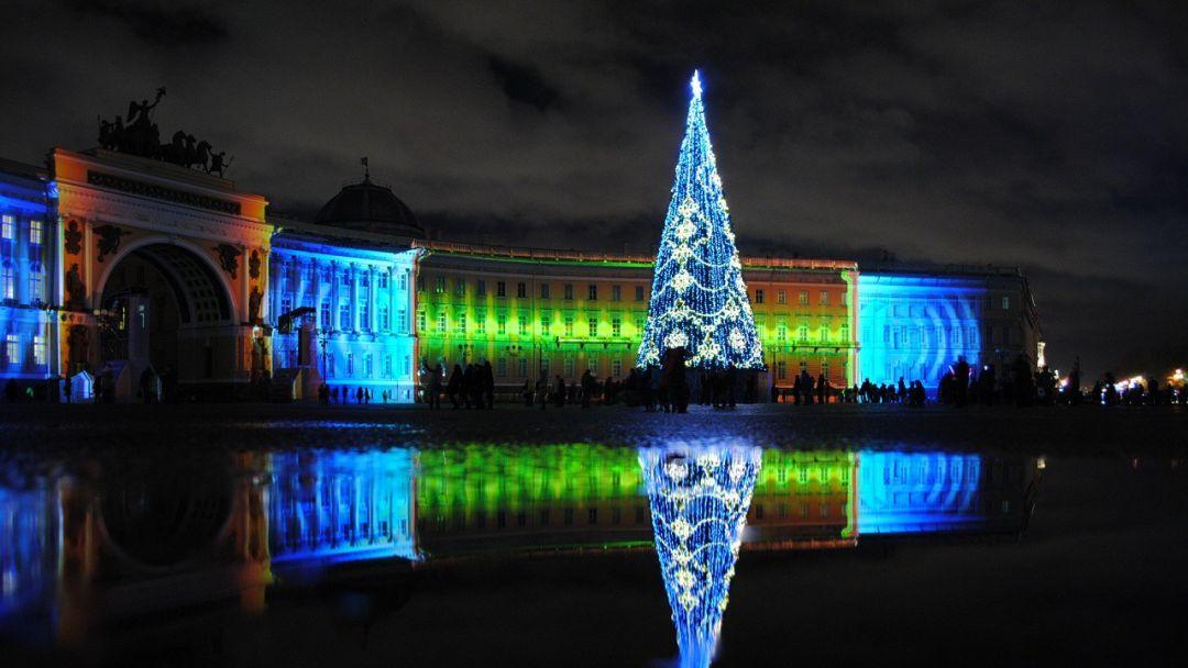 Экскурсия Огни новогоднего Петербурга