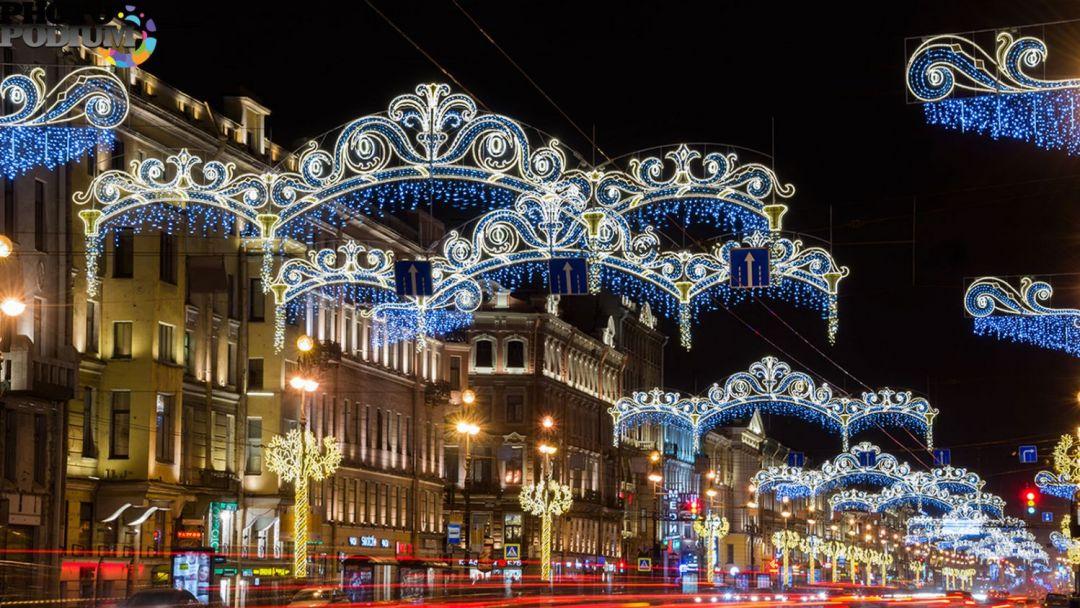Огни новогоднего Петербурга - фото 2