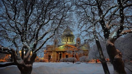 Новогодние чудеса в Петербурге - фото 3