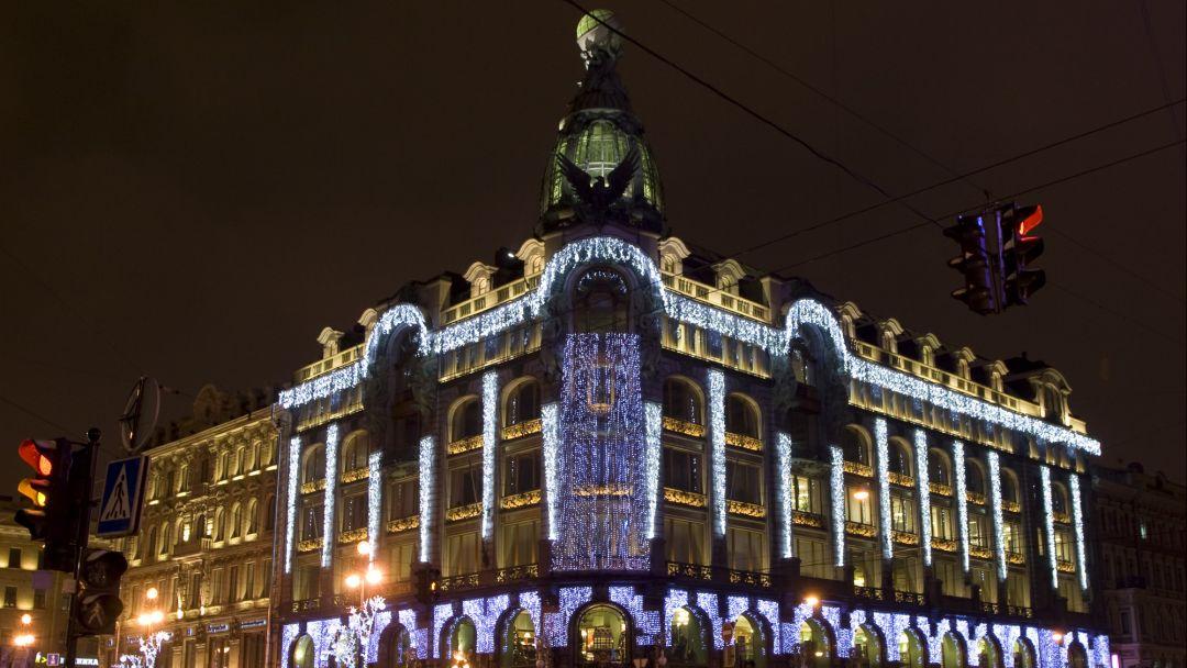 Ночная новогодняя экскурсия по Санкт-Петербургу - фото 2