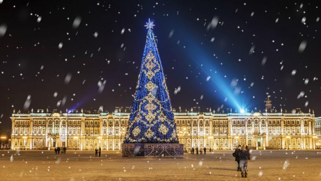 Ночная новогодняя экскурсия по Санкт-Петербургу - фото 3