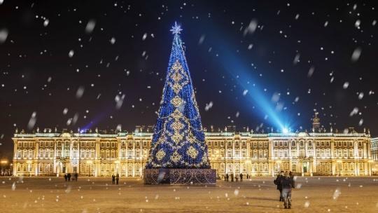 Экскурсия Встреча Нового года в Северной столице в Санкт-Петербурге