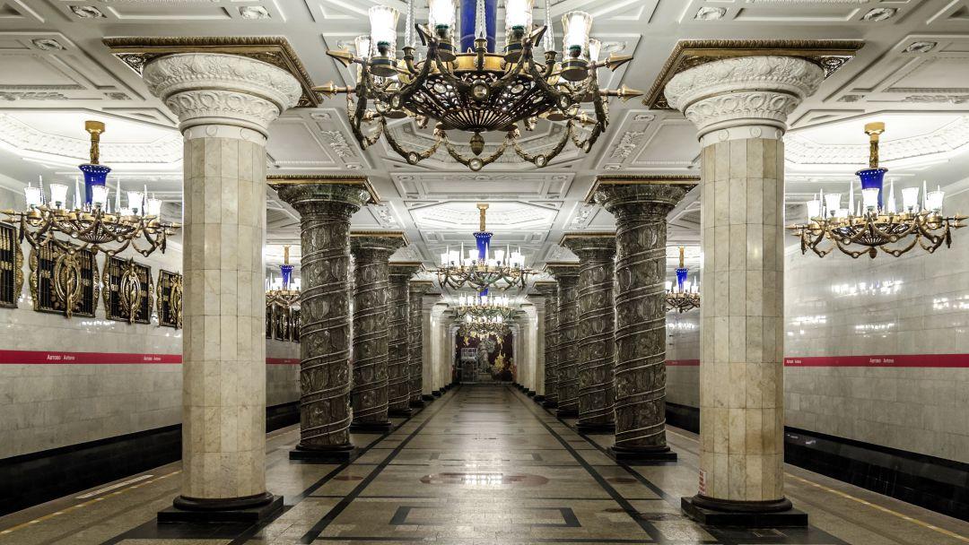 Экскурсия Экскурсия по станциям первой очереди Петербургского Метрополитена