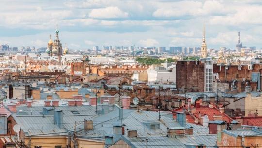 Экскурсия Крыши Петербурга с частным гидом в Санкт-Петербурге