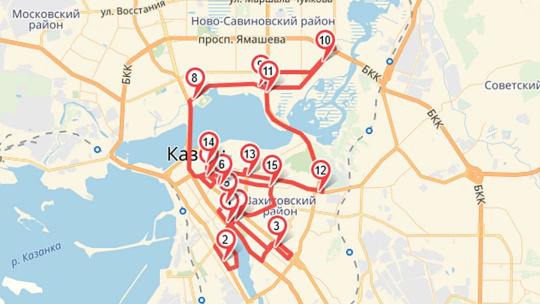 Прогулка на двухэтажном автобусе по Казани с аудиогидом - фото 4