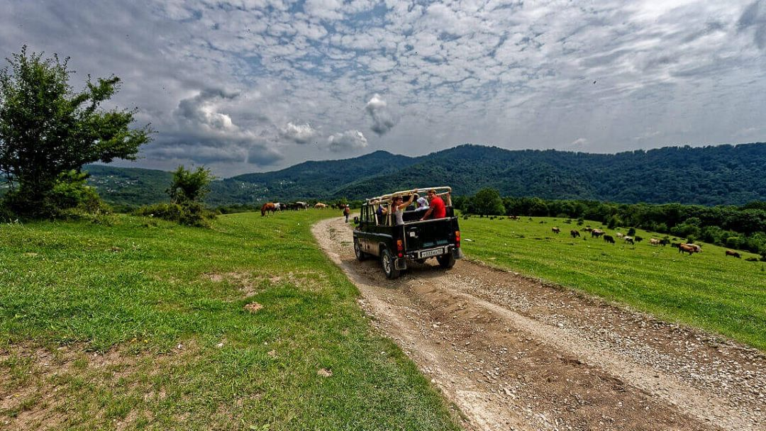 Экскурсия Джиппинг тур: Обзорный Сочи