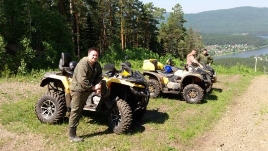 "Тур на квадроциклах ""Сказочный лес"" - фото 3"