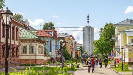 Экскурсия Обзорная автобусная экскурсия по городу по Архангельску