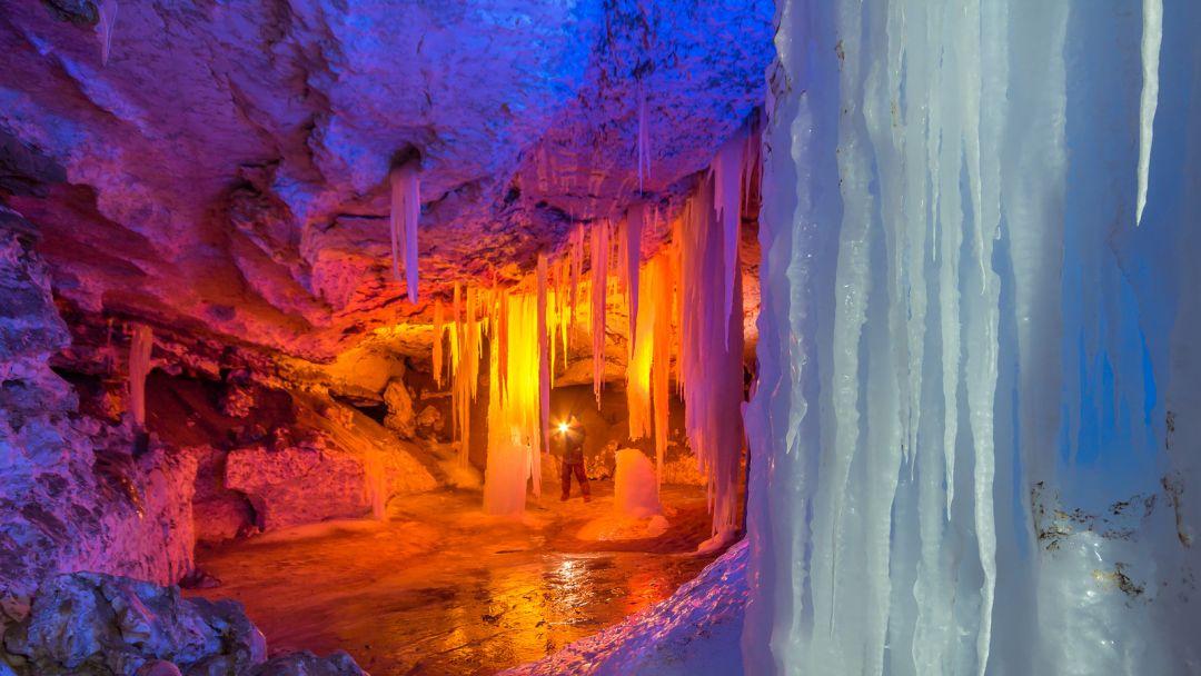 Экскурсия Пинежские пещеры