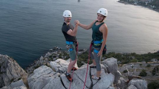 Экскурсия Скалолазание и альпинизм на горе Кошка в Симеизе в Симеизе