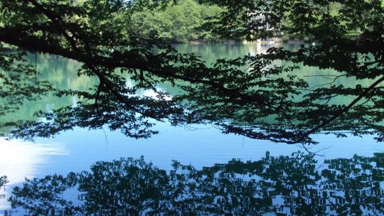 Голубое озеро - купание в Аушигере - фото 3