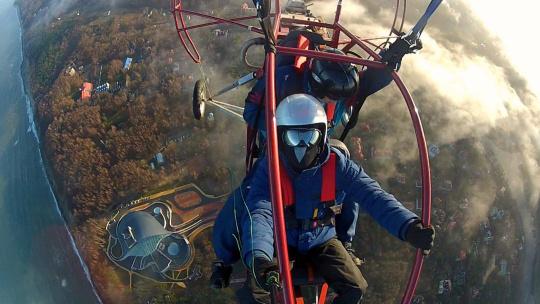 Экскурсия Полет на паратрайке по Калининграду